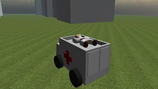 オープン救急車